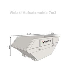 Welaki_Aufsatzmulde_7m3